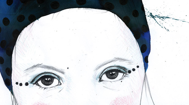 Laura Bustos. Ilustración. Retratos