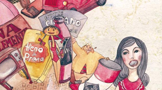 Laura Bustos. Ilustración. Libro ilustrado