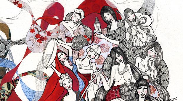 Laura Bustos. Ilustración. Omal