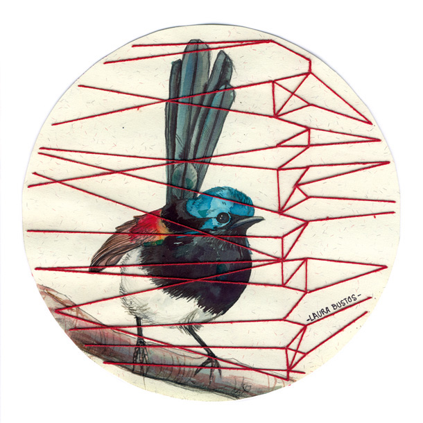 Laura Bustos. Ilustración. ¿Libres?