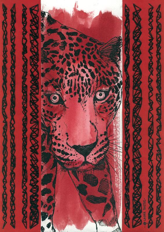 Laura Bustos. Ilustración. Felinos