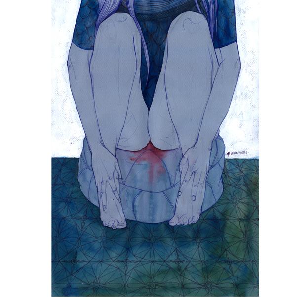 Laura Bustos. Menstruadas.