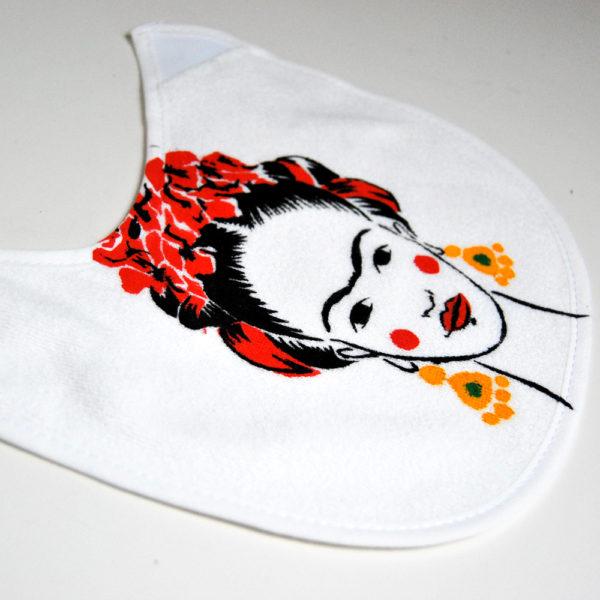 Frida Kahlo, babero