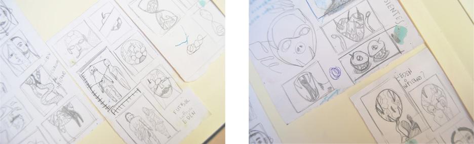 Adán, Laura Bustos Ilustración.