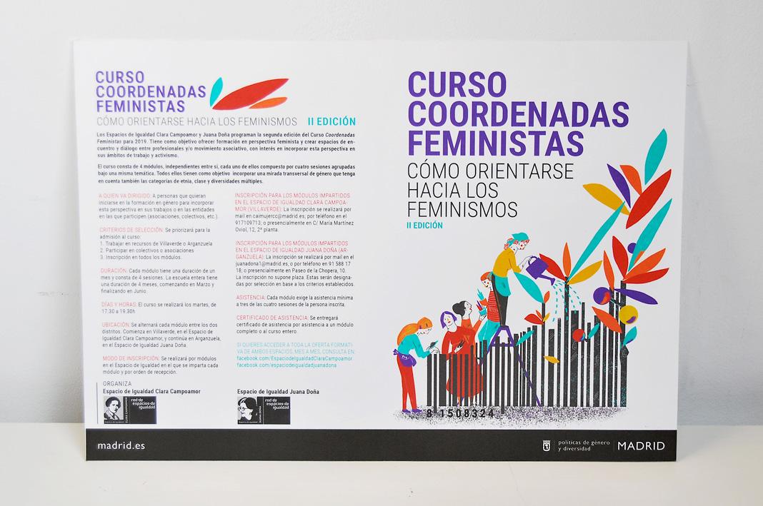 Díptico Coordenadas Feministas-Laura Bustos