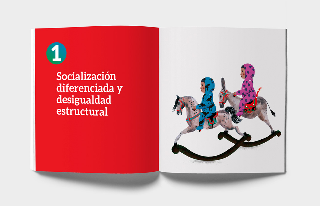 Diseño Guía promoción igualdad