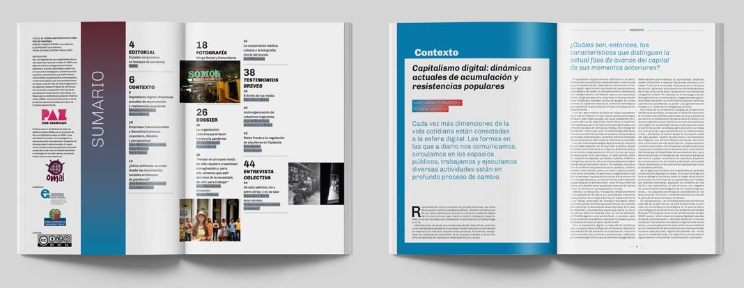 Monográfico 2 El poder corporativo en tiempos de pandemia, interiores